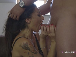 LaSublimeXXX Italian MILF Priscilla Salerno is back and is craving for big cock