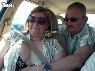 FUN MOVIES Mature Amateur German Chubby slut fucked in park