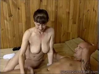 Grannys Naughty Blowjob